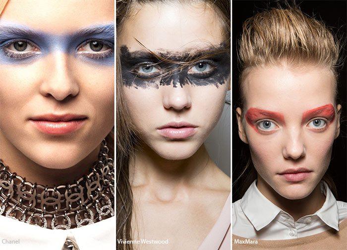 Masky z očních stínů