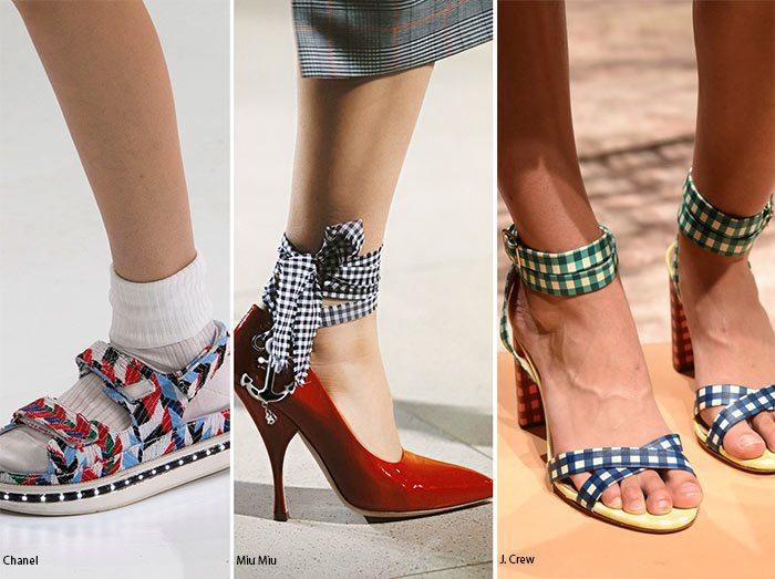 Vzorované boty