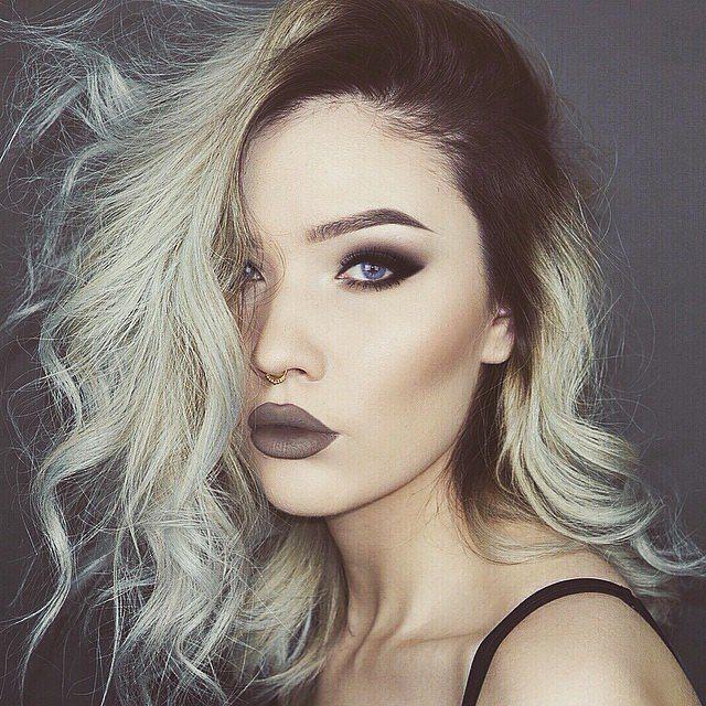 Odstín šedé barvy vlasy 2016