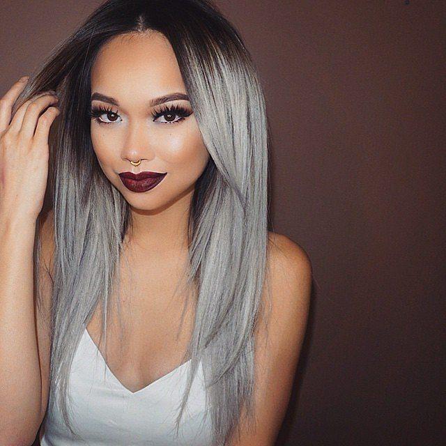 Šedá vlasová barva 2016