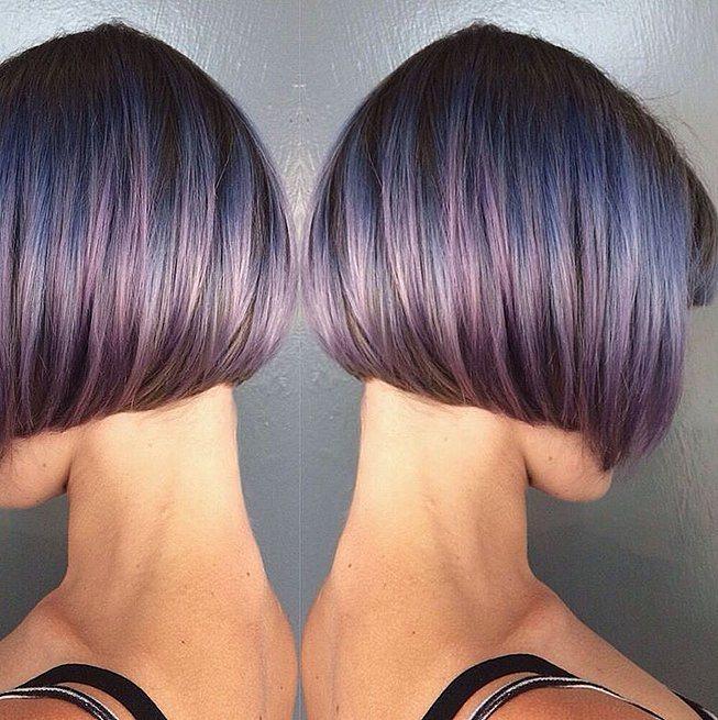 růžová modrá brunetky 2016