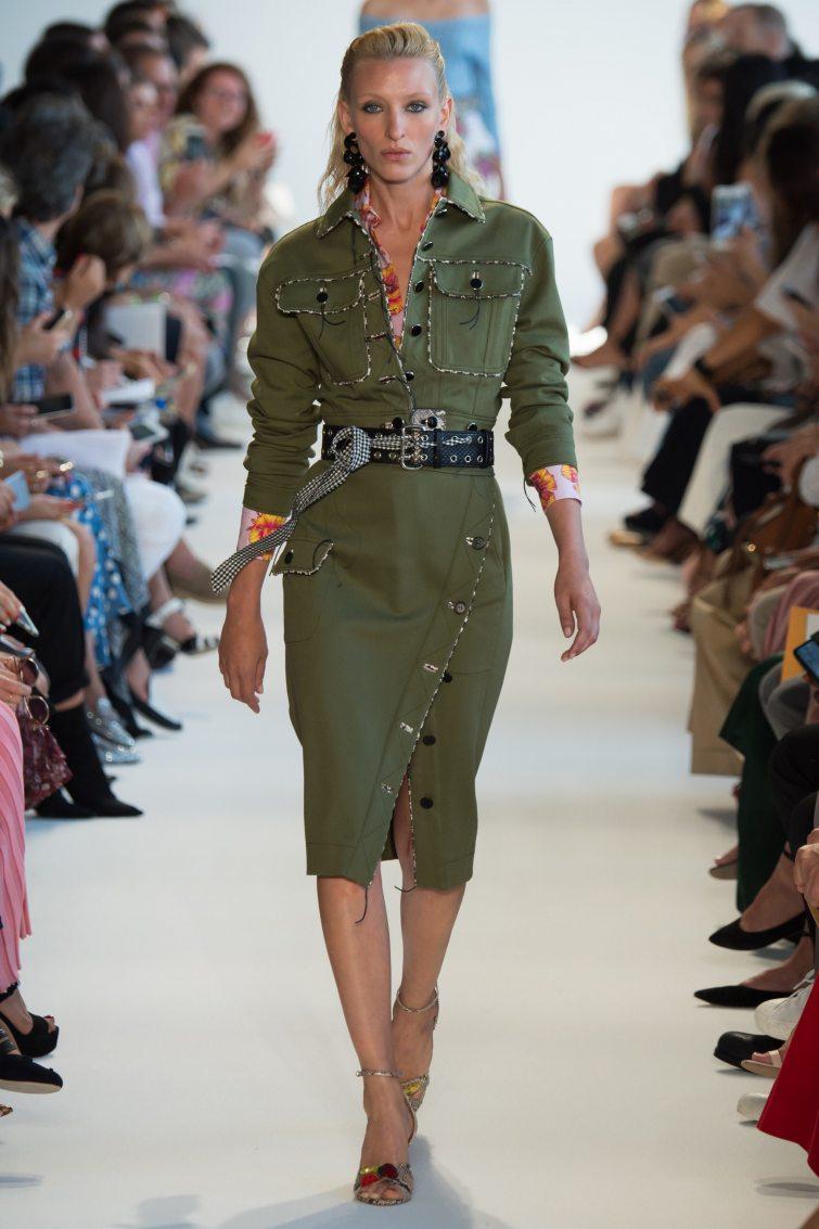 armádní styl dámské outfity tipy