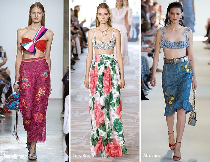 dámské módní trendy jaro léto 2017