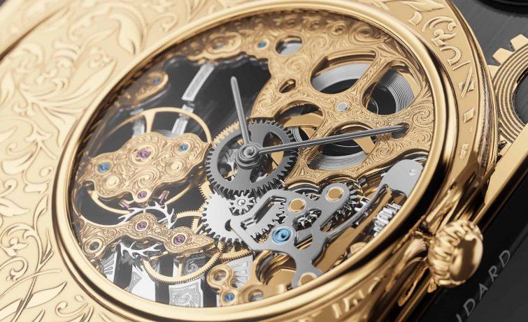 mechanický strojek hodinky náramkové