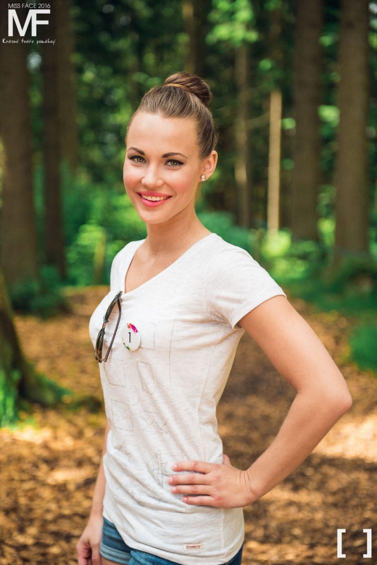 miss Nikola Krmelová modelka