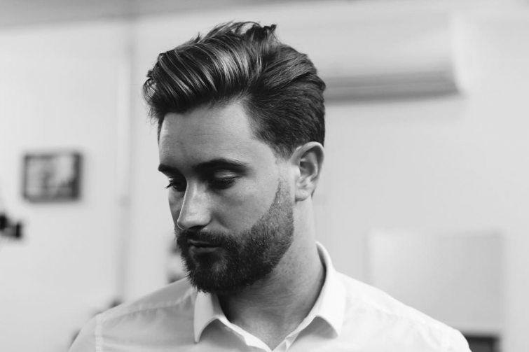 elegance muži účesy trendy
