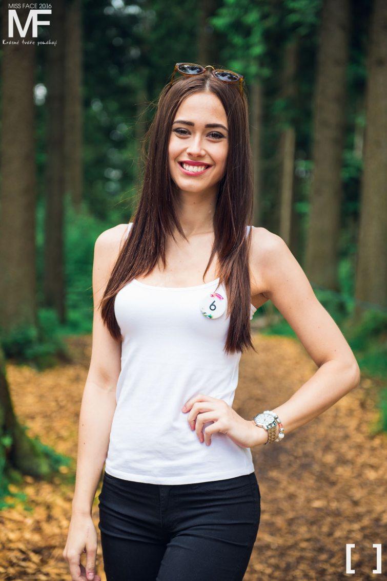 Veronika Vorlíčková miss modelka