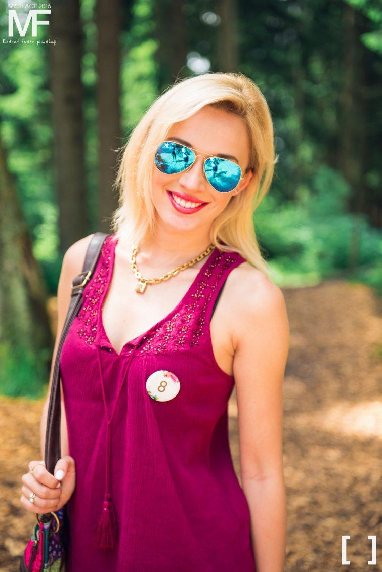 Zuzana Straková modelka miss