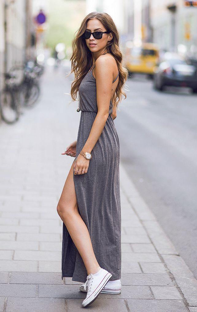 8d4e5e4f9ca Maxi šaty hýbou létem. Zkuste je i vy! - HerStyle.cz