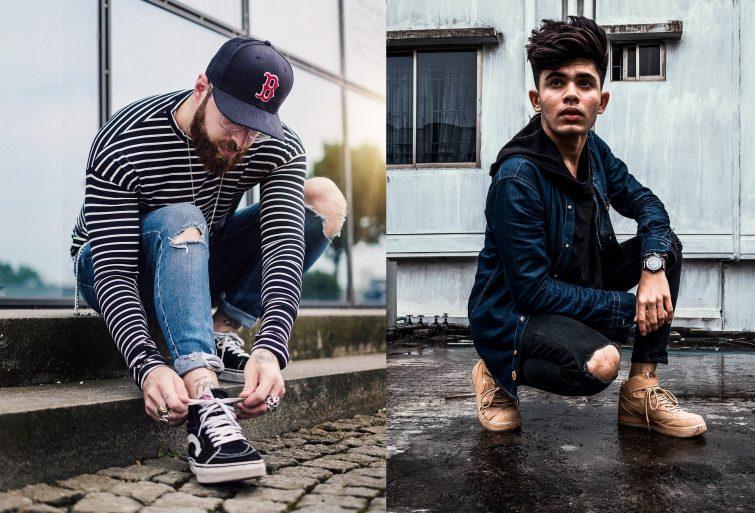 pánské outfity inspirace 2018