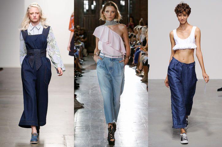 džínové módní trendy 2015