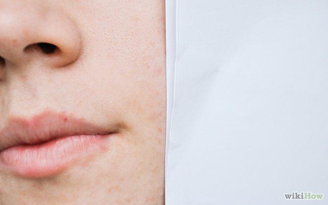 Výběr make-upu podle podtónu pleti a testu s osuškou