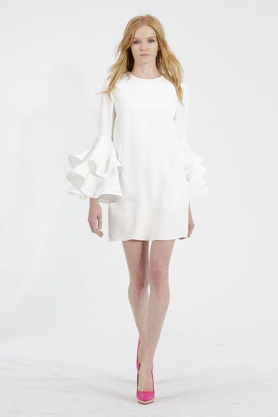 bílé svatební šaty 2015