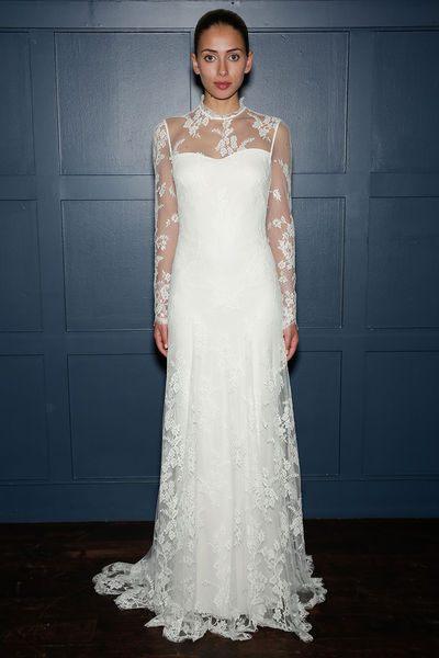 dlouhé svatební šaty pro rok 2015