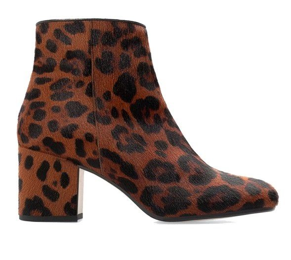 Leopardí zimní boty