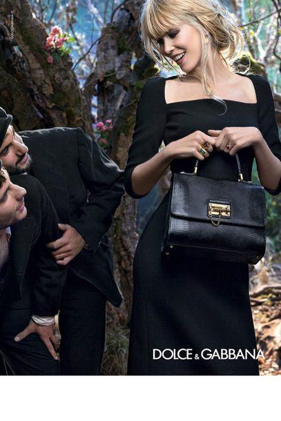 Módní kampaň Dolce and Gabbana pro podzim a zimu 2014/2015