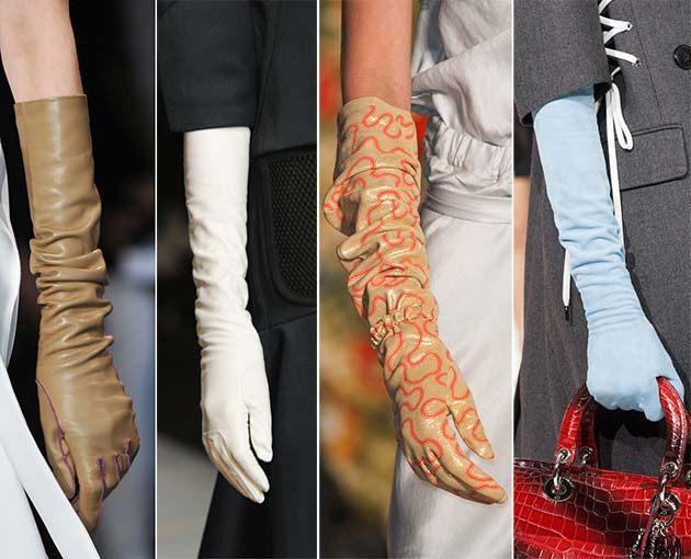 Rukavice jako trendy oblečení do deště