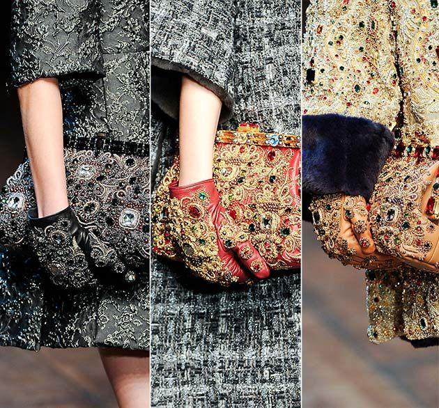 Rukavice jako stylové oblečení do deště