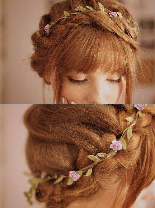 Květinová čelenka