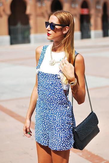 Crop top a overal, módní trendy pro léto 2014