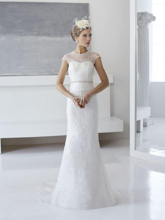 Svatební šaty ve stylu První republiky