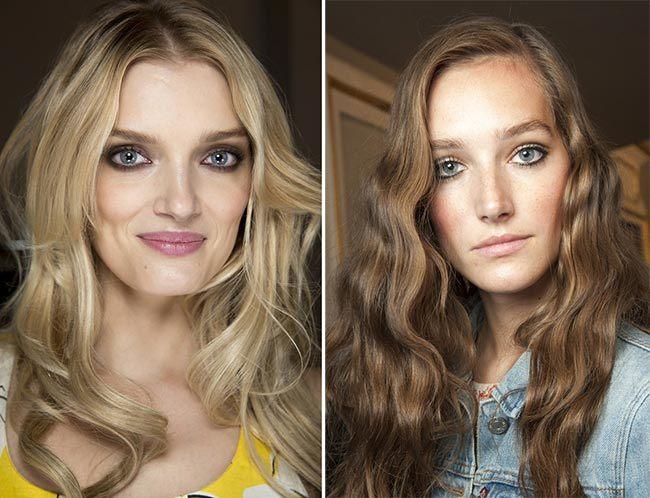 trendy účesy jaro léto 2015 dámské