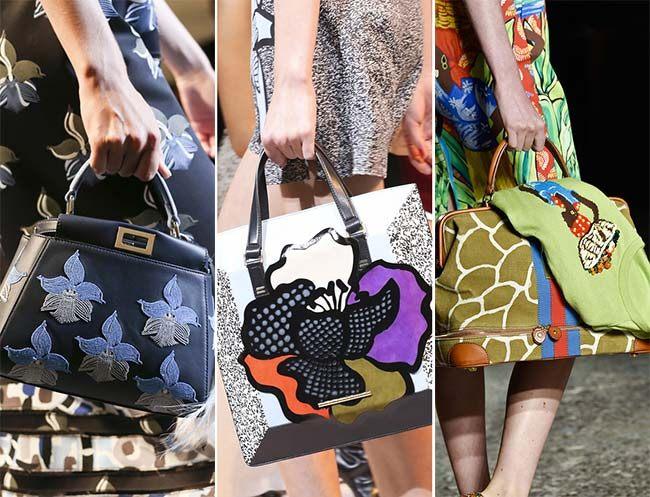Trendy kabelky potisk 2015