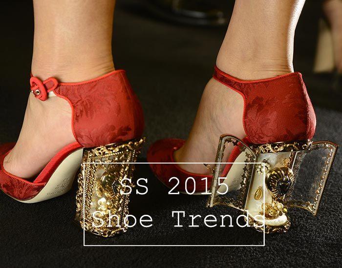 Trendy boty na jaro léto 2015