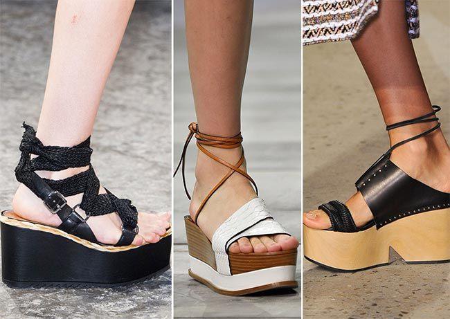 Trendová obuv na jaro léto 2015