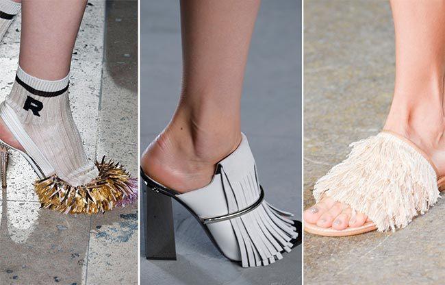 Trendy boty na jaro/léto 2015 - boty s třásněmi