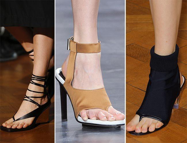 trendová obuv letní jarní 2015