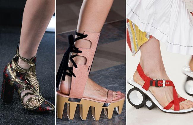 Trendy boty jaro léto 2015