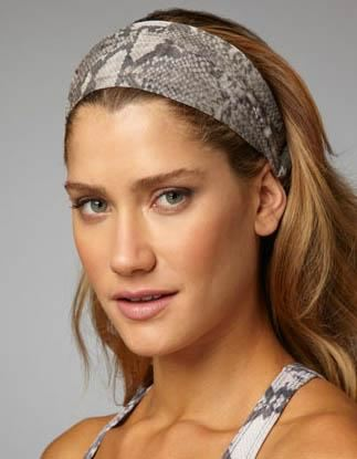 Šátek do vlasů, šátek jako čelenka