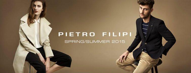 Představí se i s novou kolekcí na jaro a léto 2015 značka PIETRO FILIPI