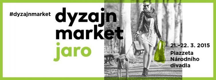 Dyzajn market v duchu jara 2015 v Praze