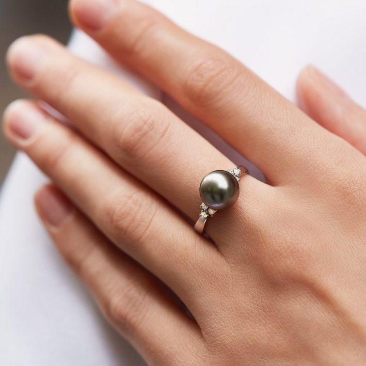 perlove sperky prstynek