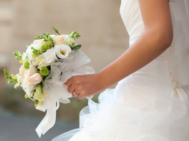 Krásné kytice pro svatební den