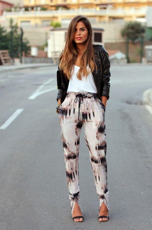 jarní outfity pro ženy
