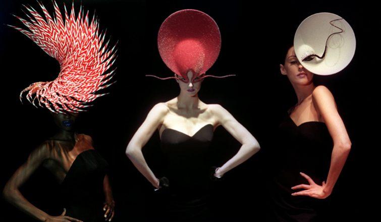 extravagantní klobouky dámské