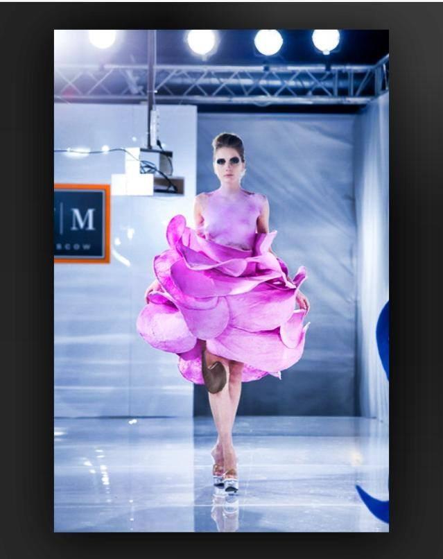 Dámské růžové šaty