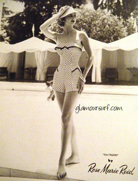 Plavky od návrhářky Rose Marie Reid