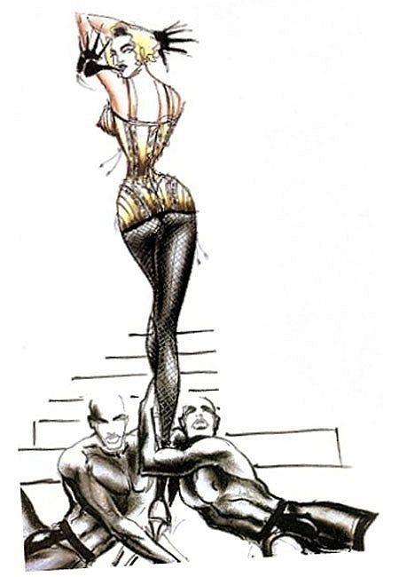 Oděvní návrh od Gaultiera