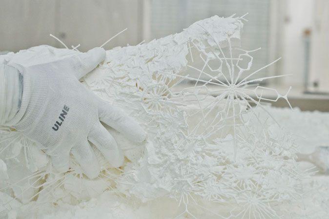 Výroba designu na spodní prádlo ve 3D tisku