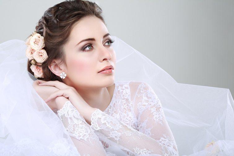 náušnice na svatbu