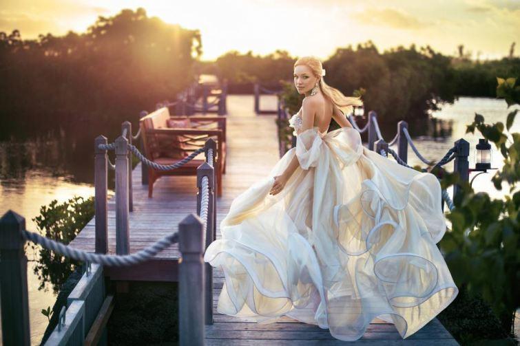 Svatební šaty Nanay