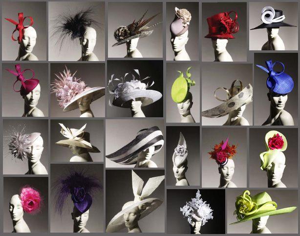 Modely klobouků návrháři