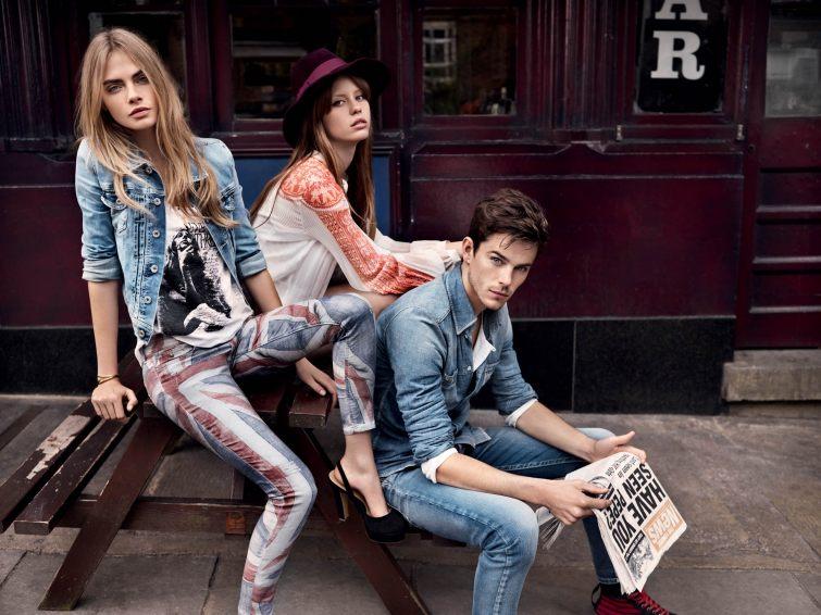 Značka Pepe Jeans s moderními džíny