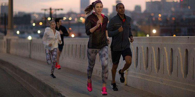 Boty od Adidas na běhání