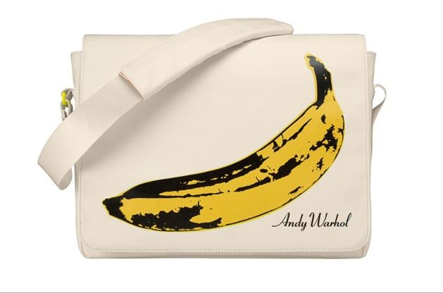 Dámská taška motiv banánu Andy Warhol