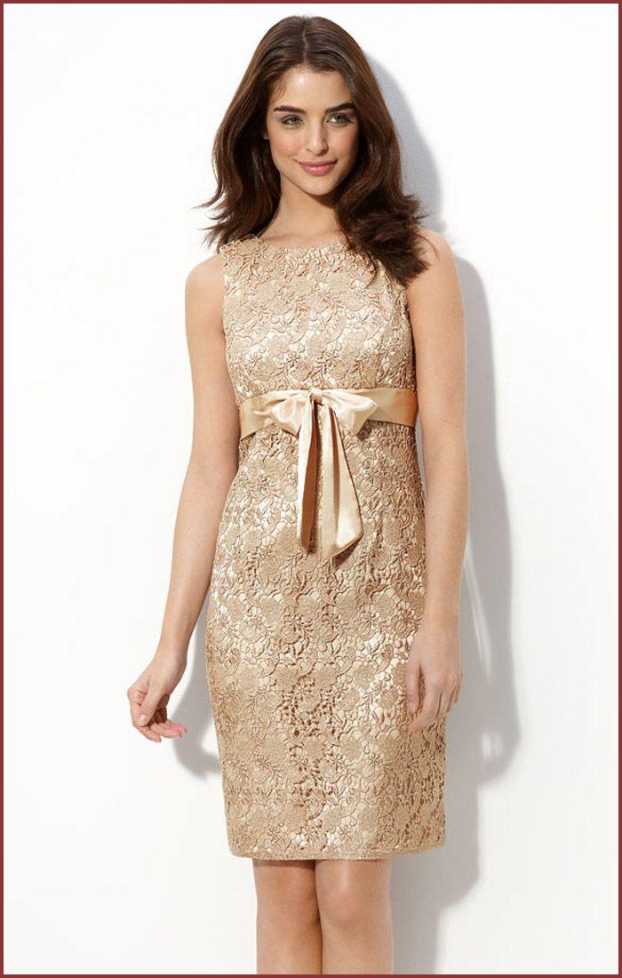 béžové saténové šaty na večírek
